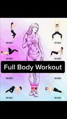 Gym Workout For Beginners, Fitness Workout For Women, Workout Videos, Slim Waist Workout, Butt Workout, Gym Workouts, At Home Workouts, Gymnastics Workout, Shoulder Workout