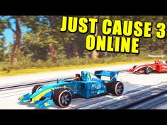 JUST CAUSE 3 MULTIJUGADOR - LOCURAS, VELOCIDAD Y MISILES ONLINE - YouTube Just Cause 3, Youtube, Racing, Videogames, Running, Lace, Youtubers, Youtube Movies