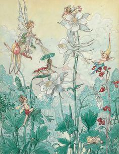 Harold Gaze. Fairies at play.