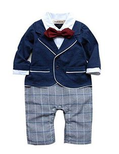 f56bc67b2 StylesILove Chic Baby Boy Formal Wear Romper Onesie 36 Months * Check this  awesome product by