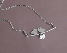 Our Little Baby Bird  Mod Family Tree with by tinycottagetreasures, $24.00