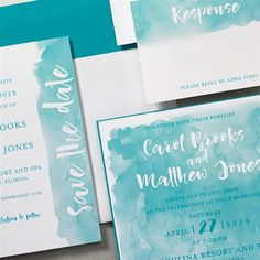 Any color scheme is available for this beautiful watercolor background wedding invitation from Lemon Tree Press. Customize yours with Paper Passionista. Watercolor Effects, Watercolor Wedding Invitations, Invitation Set, Watercolor Background, Color Schemes, Lemon, Stationery, Marriage, Joy