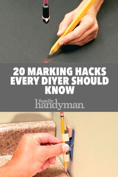 20 Marking Hacks Every DIYer Should Know is part of Mason jar crafts diy - Here's a collection of 20 astounding hacks that'll help make your marking more accurate and your days more productive Wine Bottle Crafts, Mason Jar Crafts, Mason Jar Diy, Diy Hanging Shelves, Floating Shelves Diy, Home Renovation, Kitchen Renovations, Diy Projects To Try, Wood Projects