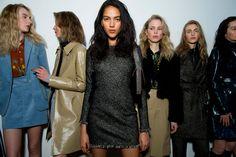 Topshop Unique Fall 2015 RTW Backstage – Vogue