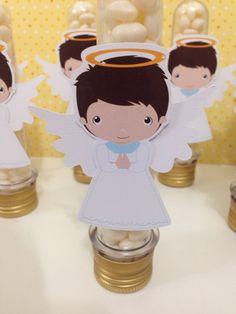 Batizado - Anjo - Angel - Personalizados Festa em Srap