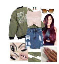 San Fran by arikaijones on Polyvore featuring polyvore, fashion, style, Topshop, Chicnova Fashion, adidas, Aamaya by priyanka, Bulgari and clothing