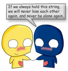 Emo Love Cartoon, Cartoons Love, I Fall In Love, Falling In Love, Painting Love Couple, Never Be Alone, Love Each Other, Cute Comics