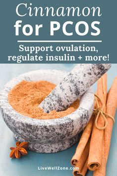 Struggling with PCOS symptoms? Learn how to use cinnamon for PCOS hormones and why it's one of the best PCOS remedies. This post also covers related topics like pcos diet, pcos weight loss, pcos infertility, pcos recipes and pcos tea. Cinnamon For Skin, Cinnamon Uses, Cinnamon Benefits, Natural Remedies For Pcos, Ayurvedic Remedies, Health Remedies, Fertility Smoothie, Fertility Foods, Healthy Skin Tips