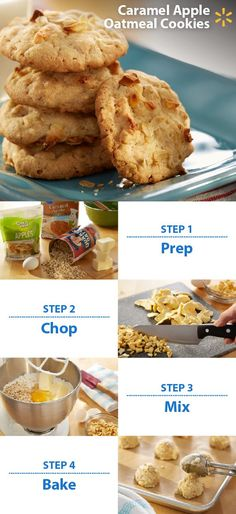 Somebody say cookies? The fans at your football party will gobble up this sweet treat! Caramel Apple Oatmeal Cookies are a delicious combo of Pillsbury Cookie Mix w/ rolled oats, melted butter and dried apples. Have a Game Time recipe you love? You could win a trip to YouTube Space L.A. to help film a video! To enter, post a photo of your game snack on Twitter or Instagram with #walmartMVPcontest. Contest ends 11/9/15. Check out more Walmart Game Time recipes & tips.: