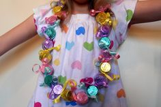 "Today's ""Family Fun"" idea comes from Aubrie @ A Mama B's. With General Conference being next week, she came up with a FUN way to keep her 7 year old daughter entertained through 25-26 talks. Love it! Aubrie made a Conference Candy Lei Countdown, here's what she has to say about it: "" I personally think kids …"