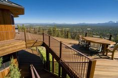 The deck of this home was built up in levels to take advantage of the expansive forest views. Each level is attached to the main home, as well as to one another. Gazebo With Fire Pit, Deck Fire Pit, Easy Fire Pit, Small Fire Pit, Modern Fire Pit, Fire Pit Seating, Fire Pit Backyard, Seating Areas, Lps