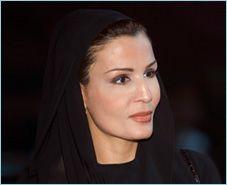 Her Highness Sheikha Mozah Bint Nasser Al-Missned
