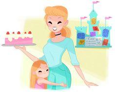 Cinderella | Wenn Disney-Prinzessinen Mütter wären
