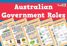 Australian Government Roles & Responsibilities :: Teacher Resources and Classroom Games Inquiry Based Learning, Project Based Learning, School Lessons, Lessons For Kids, Democracy For Kids, Teacher Registration, Government Lessons, Polo Lacoste, Classroom Games