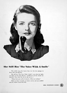 Bell Telephone Ad, 1943