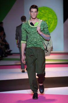 Versace's Men Fashion Show MFW SS14