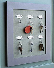 Key Rack - Martha Stewart Home & Garden