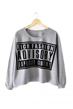Fashion Advisory Crewneck-Grey-S