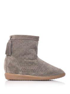 Beslay suede wedge boots | Isabel Marant | MATCHESFASHION.COM