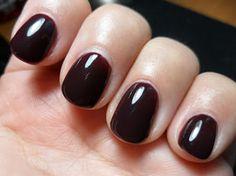 Oxblood nails