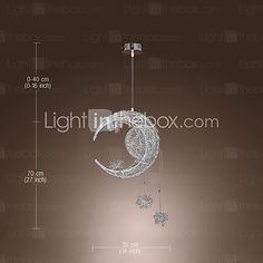 2016年 LED Max 3w*5 現代風 / ボール形 ミニスタイル 電気メッキ メタル ペンダントライト リビングルーム / ダイニングルーム / キッチン コレクション – ¥8262