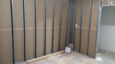 Back side view of one of the walls. Waiting on Electriction and cable company to do their work so we can add the sound proof insulation. #Dayton #CommercialProject #DCandR #DependabilityFirst