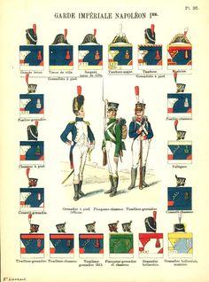 Imperial Guard Infantry Императорская Гвардия Наполеона. Lienhart & Humbert