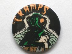 Vintage Cramps button badge | Flickr - Photo Sharing!