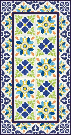 Morning Glory Designs: tile blocks