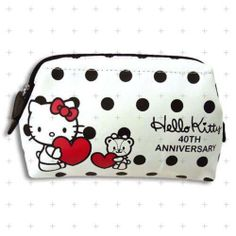 Hello Kitty 40th Anniversary Item Pouch Free Shipping from Japan 750 181 | eBay