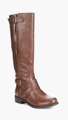 Hertle Tall Shaft Wide Calf Riding Boots