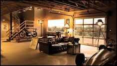 Man cave for the elite.