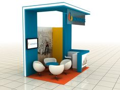 Novartis Glavus Campaign 2in1 Variable Exhibition Stand by Katalin Ercsényi, via Behance