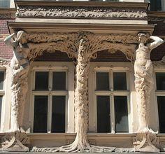 Smilšu Street in Riga, Latvia. Riga is definitely on my top 10 places to travel.