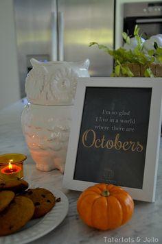 October Printable at Tatertots and Jello!!