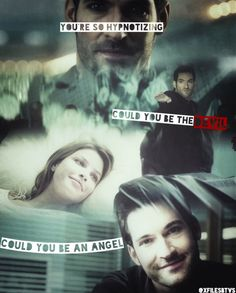 Chloe & Lucifer! I totally ship them! Hope it works out!
