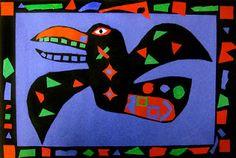 great Native American art lesson
