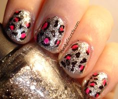 Leopard Print Nails.