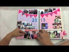 Memories Scrapbook for Boyfriend - YouTube
