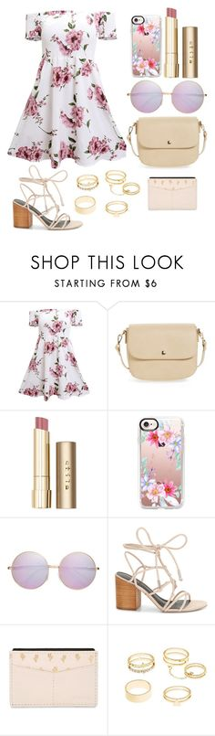 """Untitled #500"" by dolrebeca ❤ liked on Polyvore featuring BP., Stila, Casetify, Rebecca Minkoff, FOSSIL and Charlotte Russe"