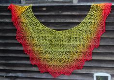 Ravelry: Strutting Peacock Lace Shawl pattern by Anna Victoria