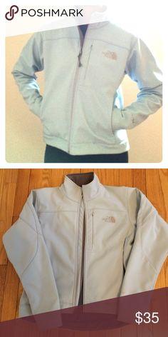 North Face baby blue apex jacket XS Baby blue north face apex jacket. Smoke free home. North Face Jackets & Coats