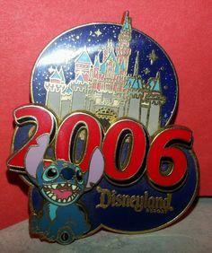 Disney 2006 STITCH Official PIN trading DISNEYLAND RESORT
