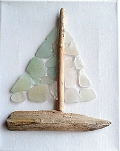 My Second Yacht Sea Glass and Driftwood #seaglassideas