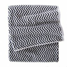 Black & White Herringbone Towel | The Block Shop - Channel 9  #InteriorDecorating #HomeFurnishings #DecoratingIdeas #InteriorDesignIdeas #DIYDecorating #Homewares #Channel9 #TheBlock #TheBlockShop #KyalandKara #FansvsFaves
