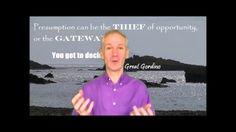 Gordon Bryan - Presumption Can Be The Thief Of Opportunity, Or...