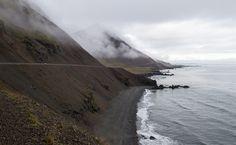 Hringvegur (Ring Road) between Höfn and Djúpivogur, Iceland   by maxunterwegs