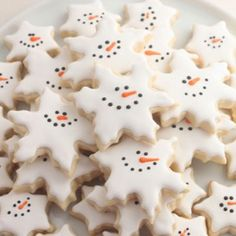Snowflake #Cookies #christmasrecipes