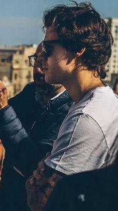Harry in Barcelona March 29, 2018