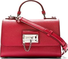 99e8102bb3 Dolce   Gabbana for Women SS18 Collection. Red Shoulder BagsSmall ...